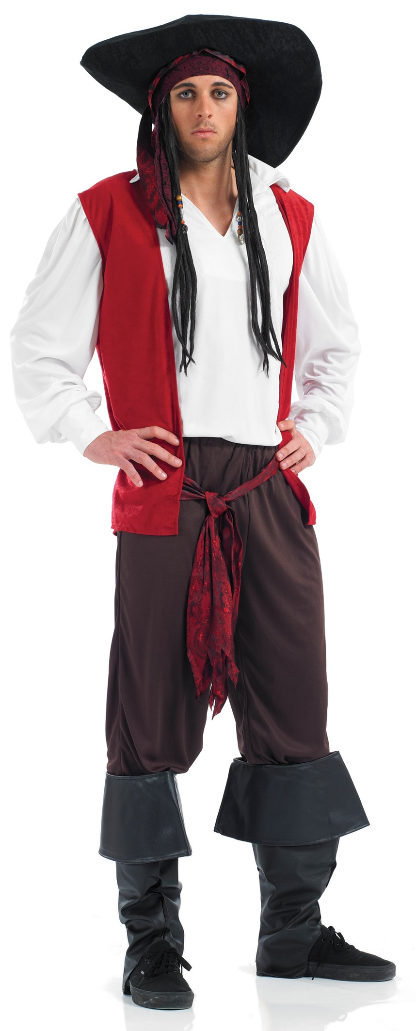XL Pirate Mman costume- XL fancy dress costume for men ...