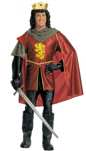 Plus size Knight Costume