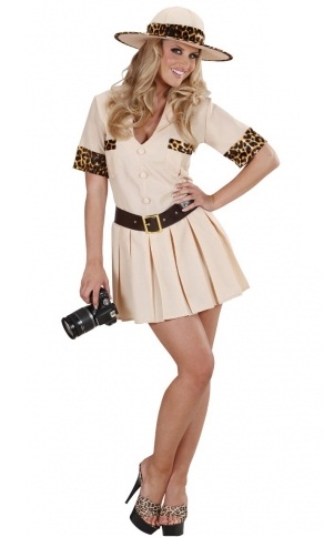 Safari Girl Costume 7565 Plus Size Safari Fancy Dress