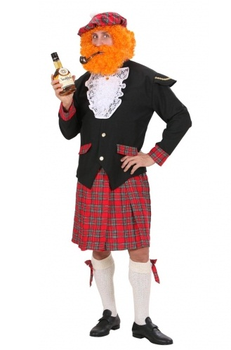 Scottish Man Plus Size Costume 3240 Plus Size Scottish Fancy Dress Costume
