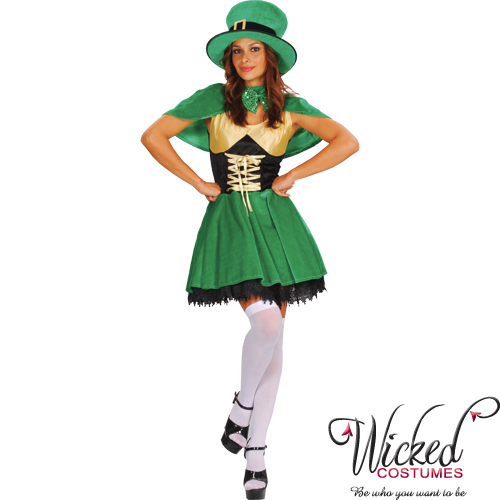 Sexy Irish Leprechaun Costume