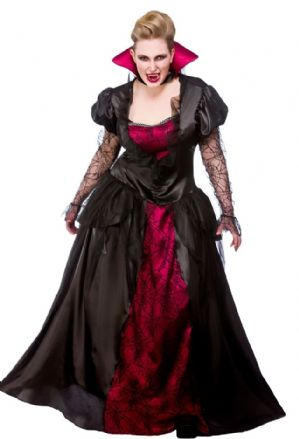 Plus size queen fancy dress