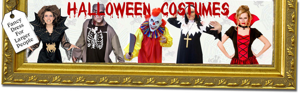 Plus Size and XL Halloween costumes