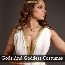Plus size and XL greek god and goddesses fancy dress costumes