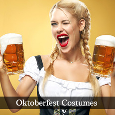 Plus size and XL Oktoberfest fancy dress costumes