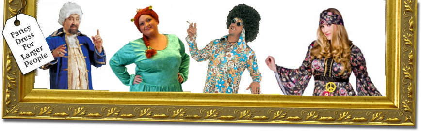 Mens plus size fancy dress uk
