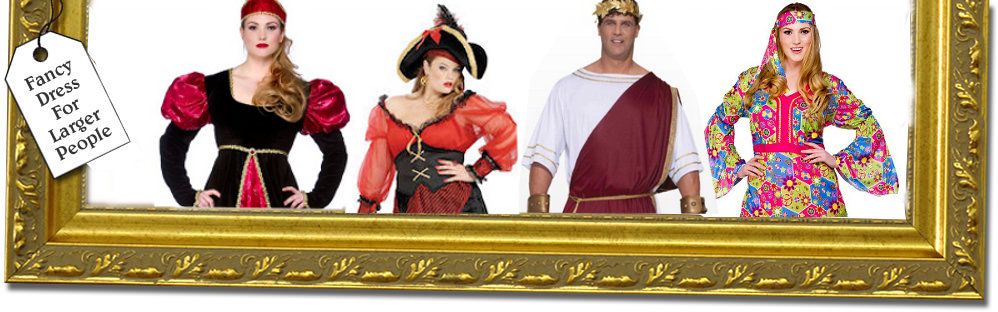 Plus size fancy dress costumes for men and ladies