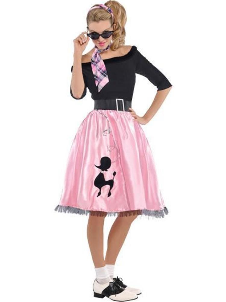50 S Sock Hop Sweetie Costume 8647 Plus Size Grease