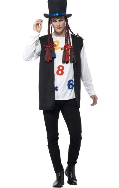 80 S Boy George Pop Star Costume 44630