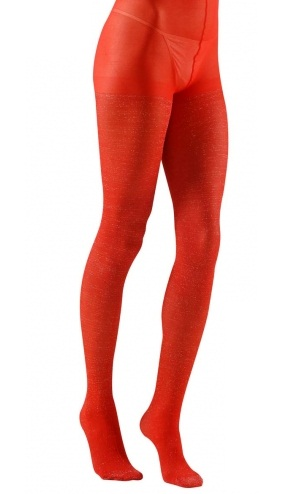 Glitter Tights Red Plus Size Plus Size Glitter Tights