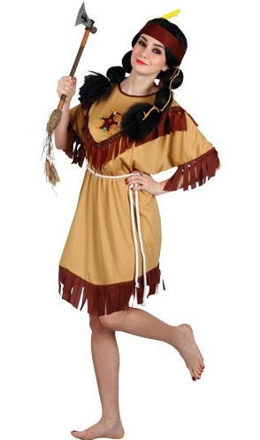 Native Indian Costume (EF2124)