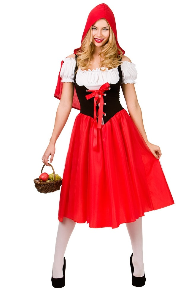 Red Riding Hood Plus size Costume (EF2163) f76a0c28e