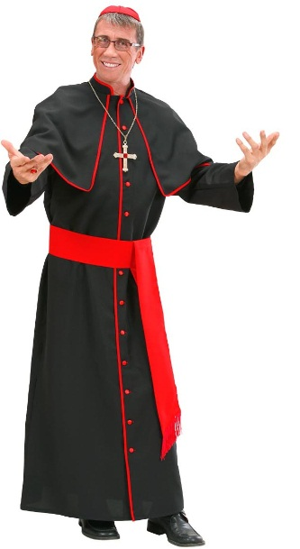 Black Cardinal Costume 7422 Plus Size Fancy Dress