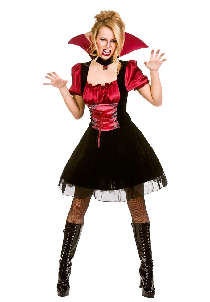 Bloodlust Vamp Plus Size Halloween Costume (HF5097)| Plus size ...