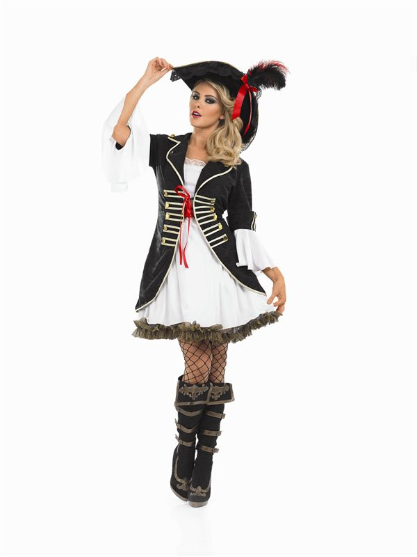 Buccaneer Girl Pirate Plus Size Costume 3344 Xl Ladies Pirate