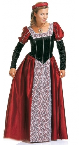 Castle Beauty Medieval Costume