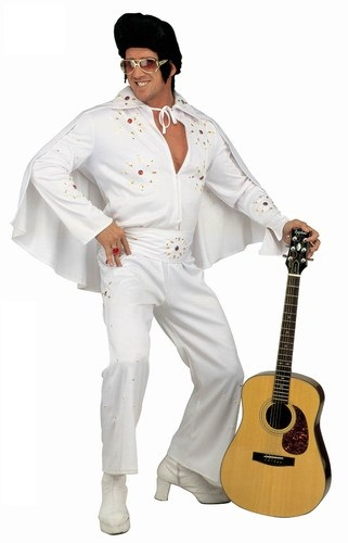 sc 1 th 280 & Plus size Elvis King of Rock costume