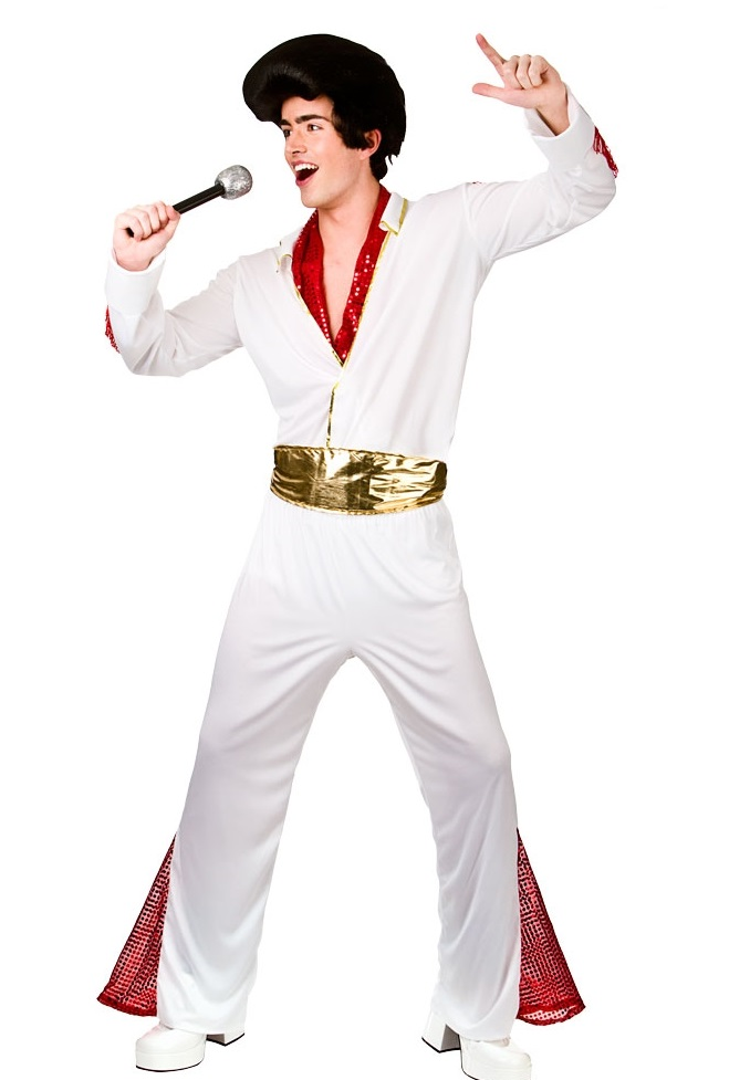 Elvis King of Rock n Roll XL Costume (EM3216), XL Elvis costume ...