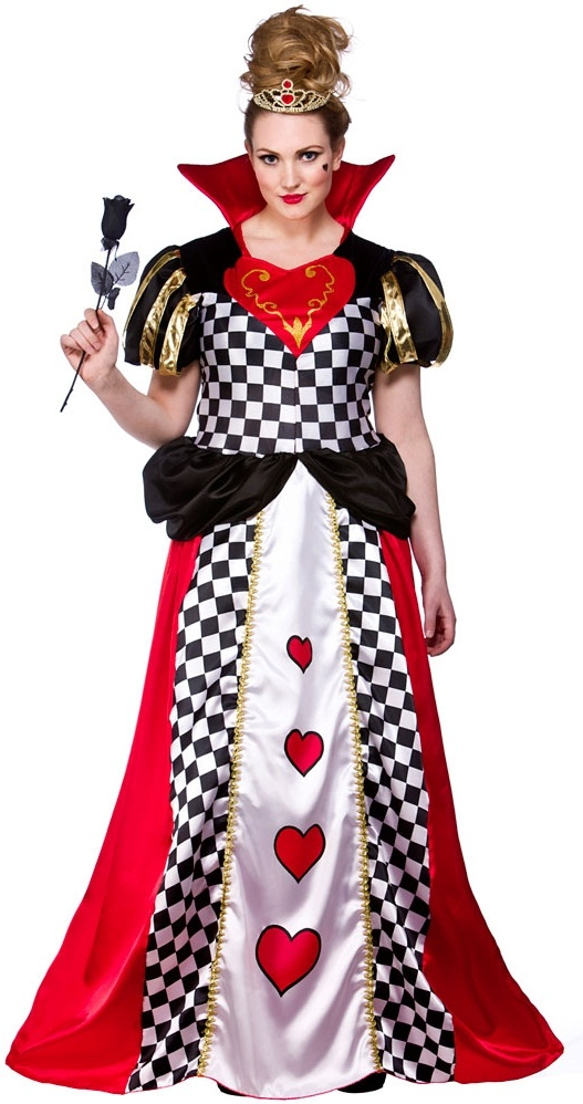 plus size queen of hearts costumeplus size queen of hearts fancy