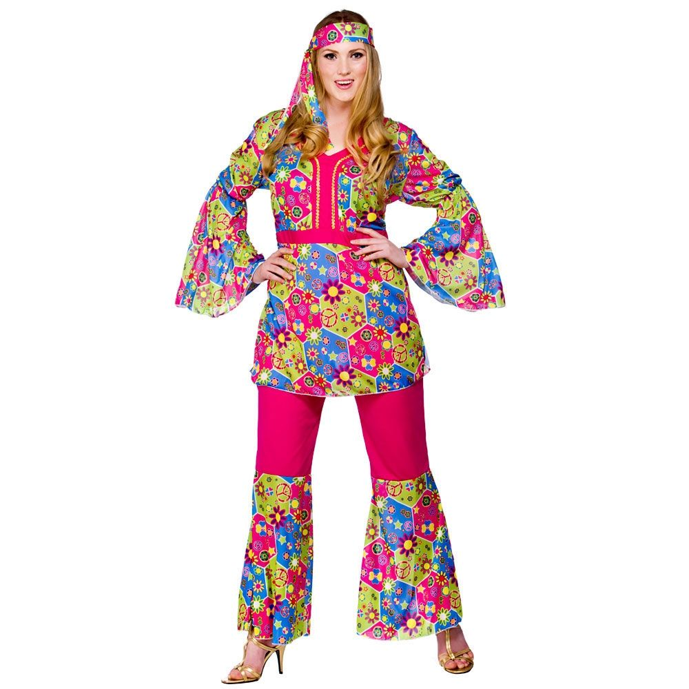 Feelin\' Groovy Plus Size Costume (EF2156)| Plus size fancy dress ...