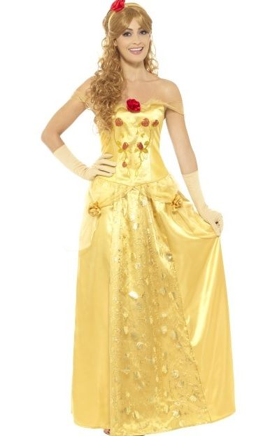 c9502516020 Golden Princess Belle Costume (45969)