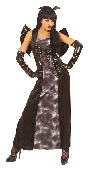 Gothic Bat Halloween Costume (5689)  sc 1 st  Ladies plus size fancy dress costumes & Gothic Bat Halloween Costume 5689  plus size Halloween fancy dress ...