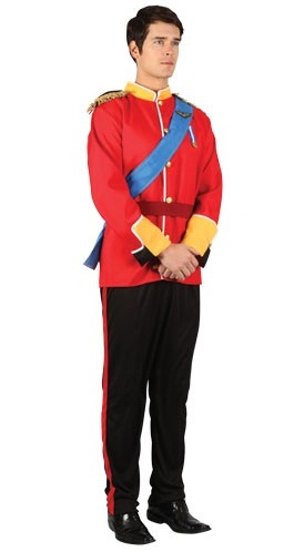 Handsome Prince Men's XL Costume
