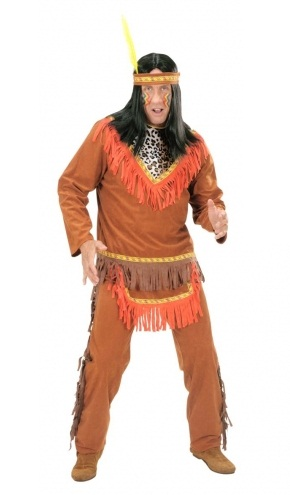 Indian Man Plus Size Costume (7184)