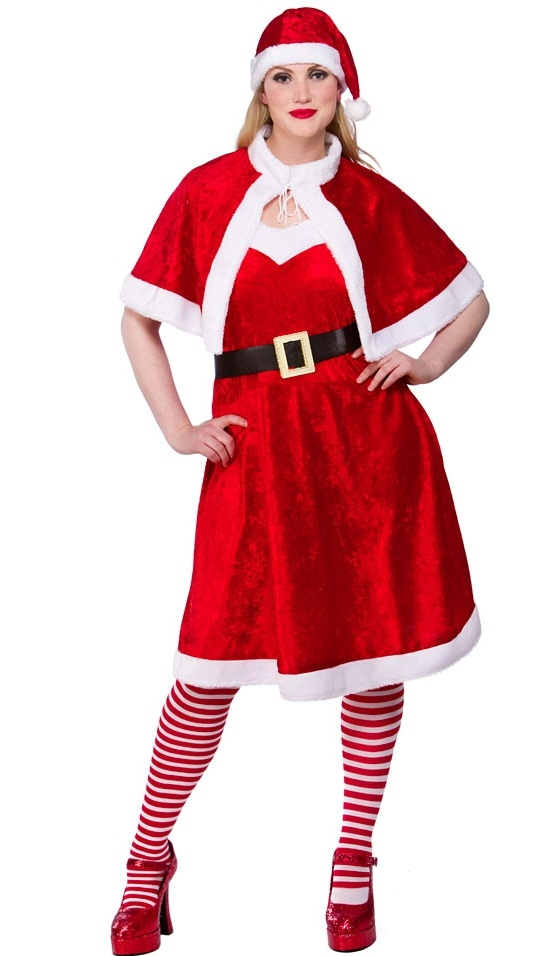Little Miss Santa Costume Xm4527