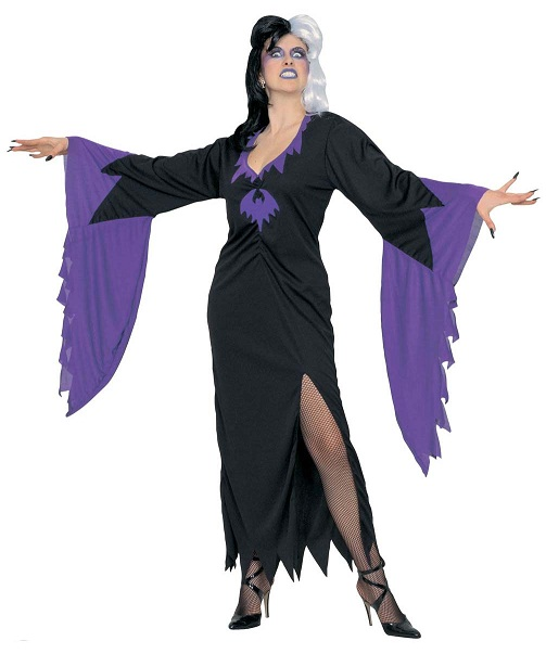 mortisia halloween costume 3151 plus size halloween fancy dress costume. Black Bedroom Furniture Sets. Home Design Ideas