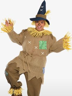 Wizard of Oz Scarecrow XL Costume