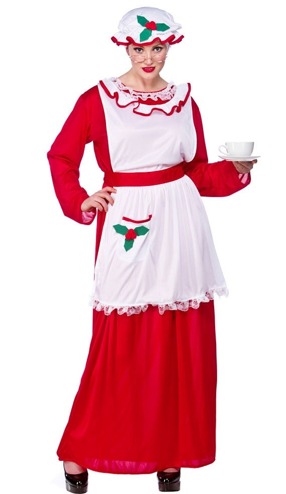 Mrs Santa Claus Costume Xm4526 Plus Size Fancy Dress