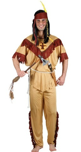 Native Indian Man Costume (EM3130)