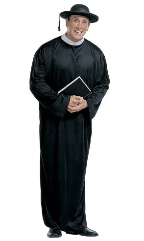 Priest / Vicar  Costume (3105)