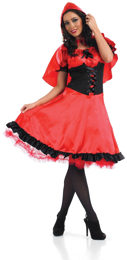 Red Riding hood plus size ladies costume- plus sze red riding hood ...