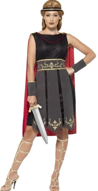 Roman Warrior Lady Costume (45496)  sc 1 st  Ladies plus size fancy dress costumes : lady gladiator costume  - Germanpascual.Com