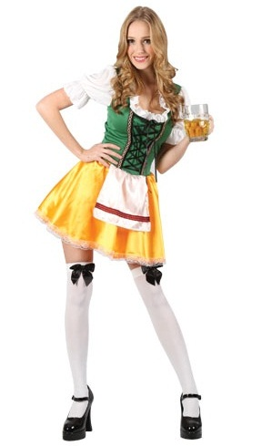 Plus size Sexy Beer Girl fancy dress costume