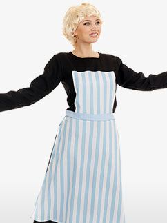 Singing Nanny Sound of Music Plus Size Costume (4002)