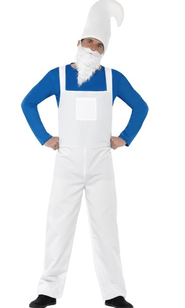 Smurfette fancy dress plus size