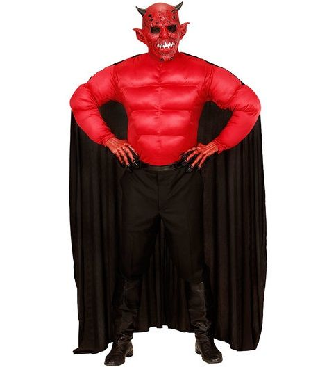 super devil xl halloween costume 00634