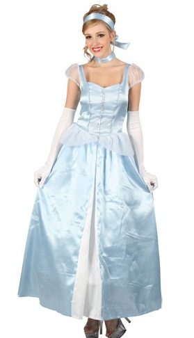 Sweet Cinders adult plus sizeCinderella fancy dress costume