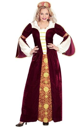 Velvet Queen Medieval Plus Size Costume 00034 Plus Size