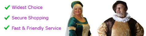 Medieval plus size fancy dress