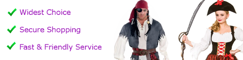 XXL men's pirate costumes
